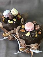Паска с шоколадной глазурью в коробке, 700 г, ТМ СВИТАНОК