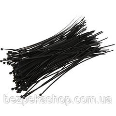 Стяжка 200х4 мм черная