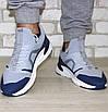Кросівки чоловічі сірі трикотажні (розміри 40, 43, 44, 45), фото 10