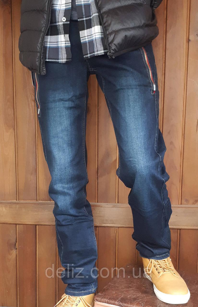 УЦІНКА (нюанс) - Стильні джинси однотонні Vigoocc 720. Розмір 24 (на 9-10 років, є виміри) - УЦІНКА