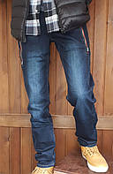УЦІНКА (нюанс) - Стильні джинси однотонні Vigoocc 720. Розмір 24 (на 9-10 років, є виміри) - УЦІНКА, фото 1