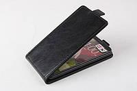 Чехол флип для LG G3 чёрный