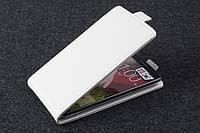 Чехол флип для LG G3 белый