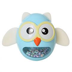 Іграшка-неваляшка G-A027 сова (Блакитна)