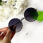 Чорні окуляри від сонця, фото 4