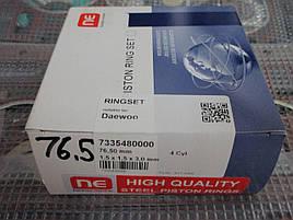 Кольца поршневые AMP Ланос 8кл 76.5