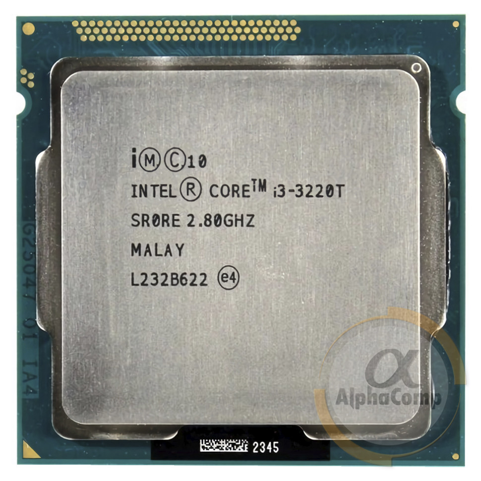 Процессор Intel Core i3 3220T (2×2.80GHz • 3Mb • 1155) БУ