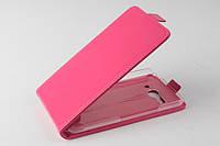 Чехол флип для Alcatel One Touch Pop C9 розовый