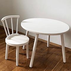 Дитячий дерев'яний стіл + стілець