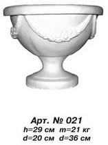 Вази, квітники «ВГерань» D=36 см, D=20 см, H=29 см