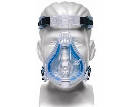 СИПАП маска носо-ротовая для CPAP терапии. Размер L, фото 2