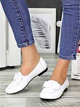 Жіночі туфлі білі шкіряні Bant 7035-28