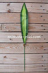 Искусственный лист юкки, 60 см