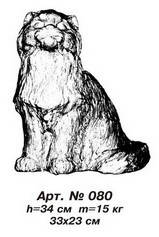 Фігури тварин «Кіт» арт.080