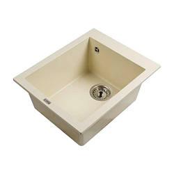 Мойка каменная Ventolux AMORE (CREMA) 500x400x200 Кремовая