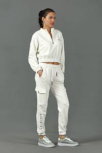 Женский костюм NewColor 124 белый