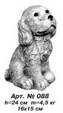 Фігури тварин «Собачка» Н=24 см