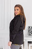 Демисезонная женская курточка с капюшоном, застегивается на молнию с 48 по 58 размер, фото 6