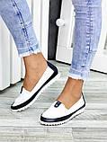 Туфли мокасины кожаные женские 7450-28, фото 2
