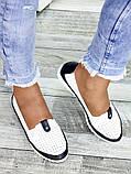 Туфли мокасины кожаные женские 7450-28, фото 3