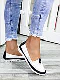 Туфли мокасины кожаные женские 7450-28, фото 4