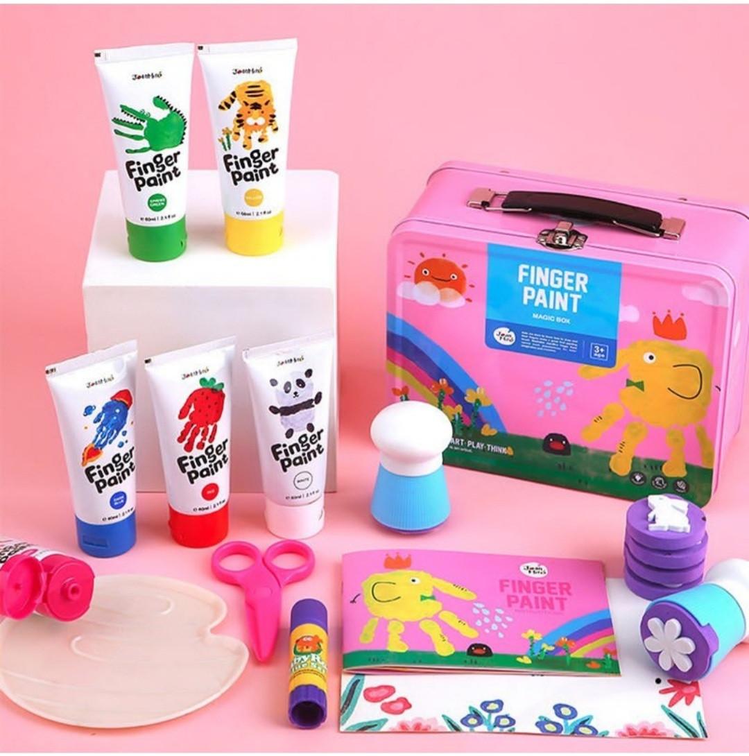 Набор для рисования и творчества в чемоданчике, Jar Melo, розовый