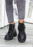 Жіночі зимові черевики з натуральної шкіри, фото 2