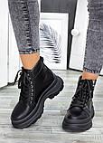 Жіночі зимові черевики з натуральної шкіри, фото 3