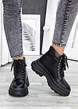 Жіночі зимові черевики з натуральної шкіри, фото 4