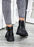 Жіночі зимові черевики з натуральної шкіри, фото 5