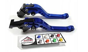 Короткі спортивні анодовані ручки для мотоциклів з ЧПУ