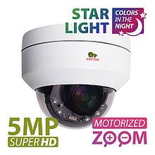5МП роботизированная IP видеокамера Partizan IPD-VF5MP-IR PTZ Starlight