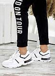 Кросівки жіночі білі шкіряні 7668-28, фото 3