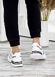 Кросівки жіночі білі шкіряні 7668-28, фото 5