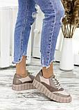 Кросівки жіночі бежеві, фото 2