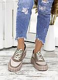 Кросівки жіночі бежеві, фото 4