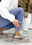 Кросівки жіночі бежеві, фото 6