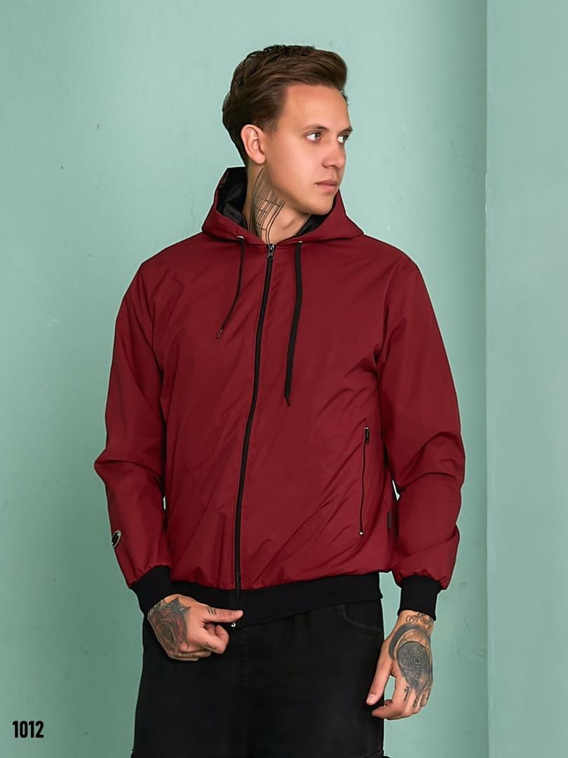 Куртка-вітрівка чоловіча плащівка на підкладці 48,50,52,54,56,58