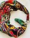 """""""ЭТНО"""" дизайнерский платок, шарф-колье, шарф-чокер, шейный платок, фото 3"""