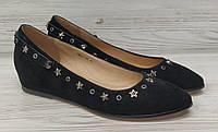 Балетки туфли женские 1-03 broccoli Р. 36.37.38.39.