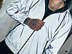 Куртка-ветровка светоотражающая мужская плотная плащевка на подкладке 48,50,52,54,56, фото 2