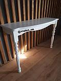 Консольний стіл білий, фото 2