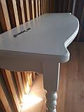 Консольний стіл білий, фото 3