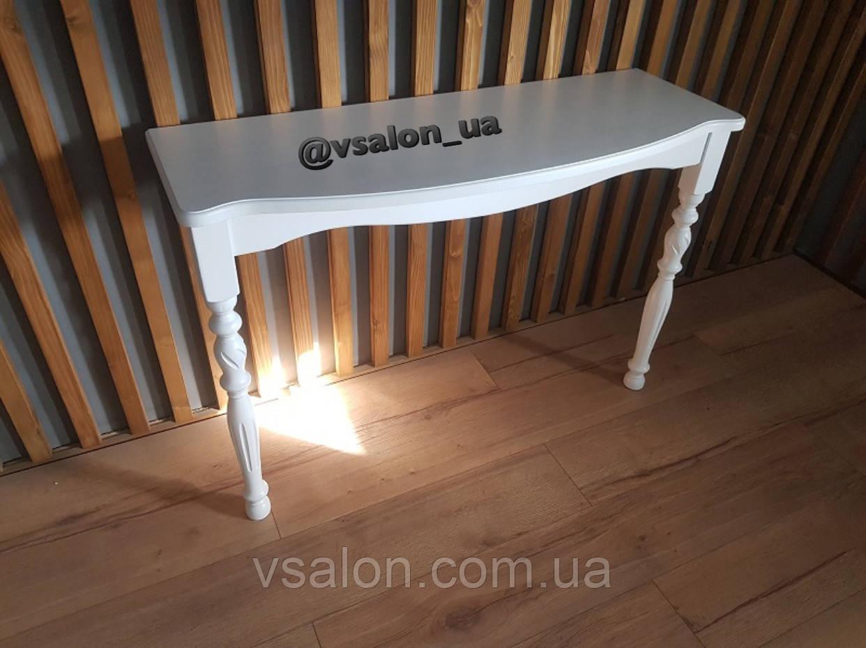 Консольний стіл білий