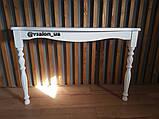 Консольний стіл білий, фото 4