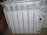 Алюминиевый электрорадиатор 4-секции 390Вт