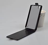 Чехол флип для Huawei Ascend G630-U10 DualSim чёрный