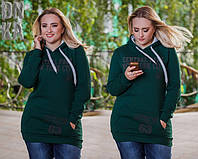 Батник женский  с карманами, фото 1