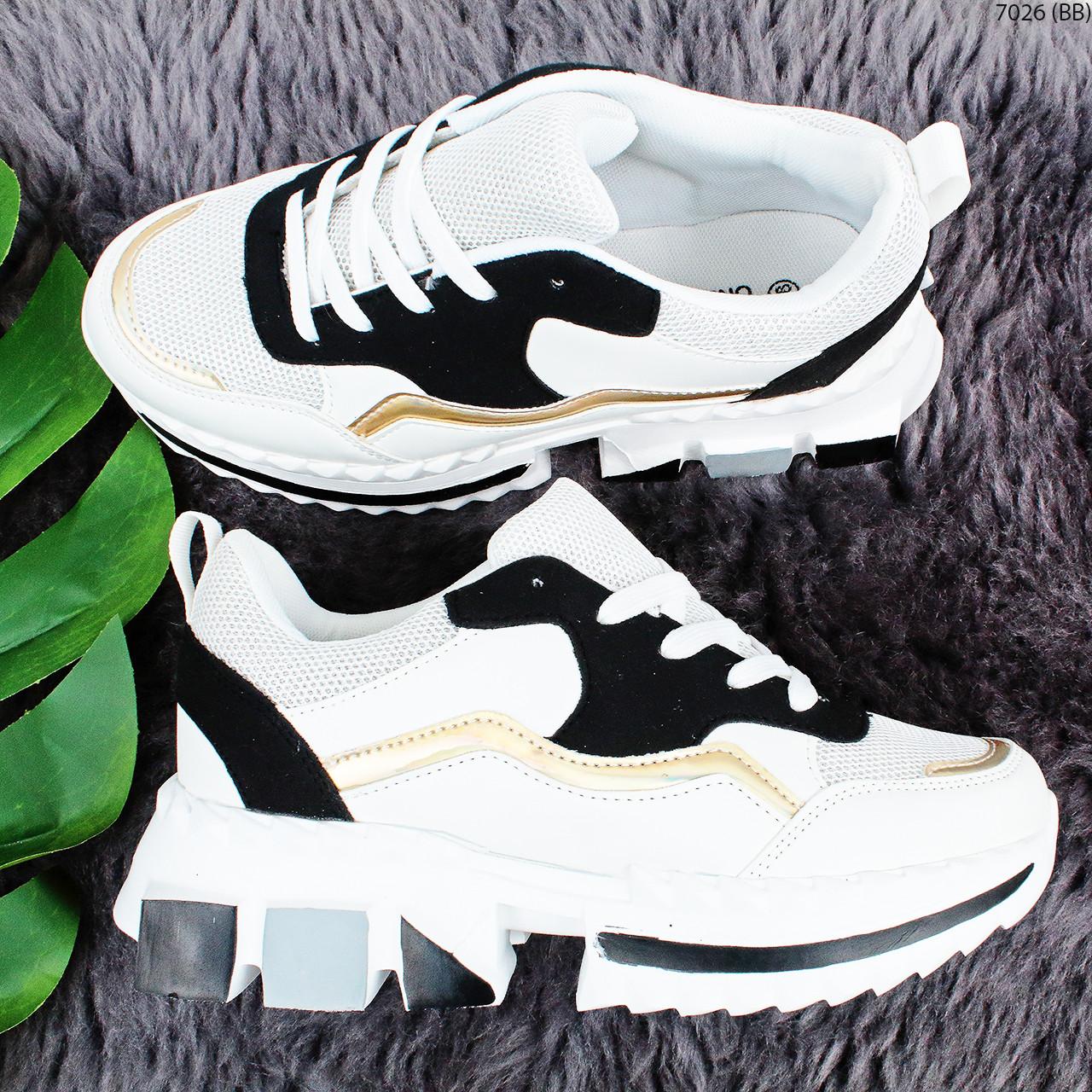 Круті кросівки на масивній підошві