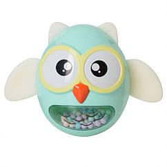 Іграшка-неваляшка G-A027 сова (Бірюзова)